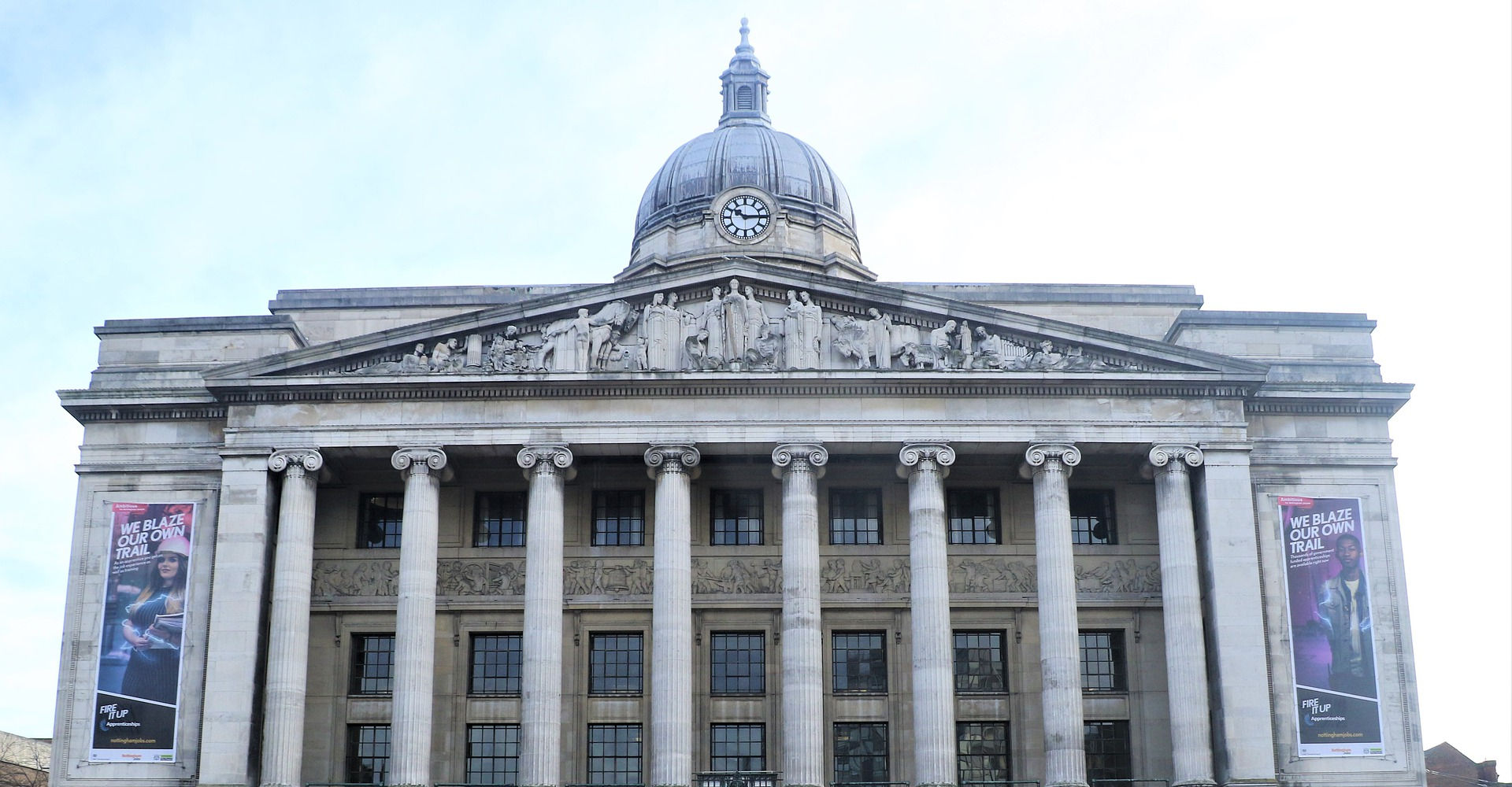 An image of the Nottingham Council House