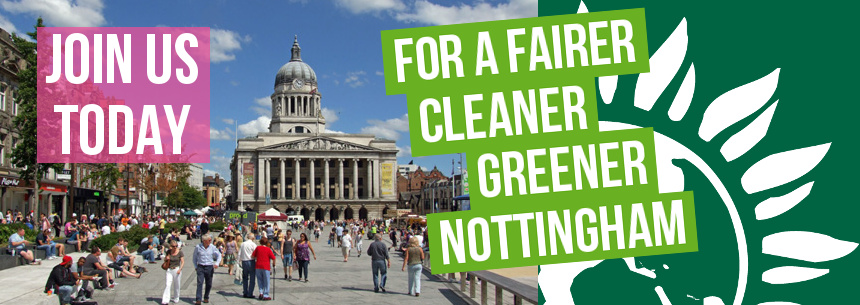 For a fairer, cleaner, greener Nottingham