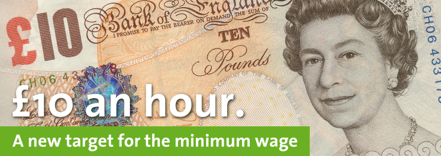 £10 minimum wage for all